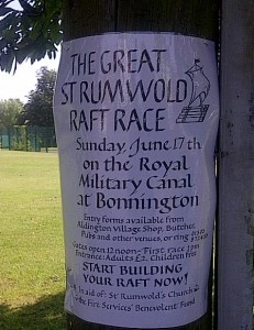 St. Rumwolds Raft Race Info 2012